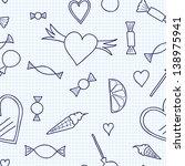 seamless candy | Shutterstock .eps vector #138975941