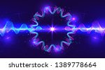 dynamic abstract technology... | Shutterstock .eps vector #1389778664