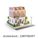 unusual 3d illustration of a...   Shutterstock . vector #1389780497