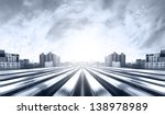highway heading to the city | Shutterstock . vector #138978989