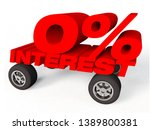 3d render of a car with words... | Shutterstock . vector #1389800381