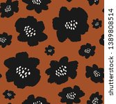 seamless repeating pattern with ... | Shutterstock .eps vector #1389808514
