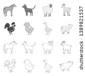 vector design of breeding and... | Shutterstock .eps vector #1389821537