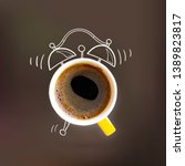 Creative Idea Layout Coffe Cup...