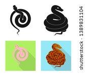 vector illustration of mammal... | Shutterstock .eps vector #1389831104