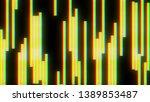 glitch blocks screen background ... | Shutterstock . vector #1389853487