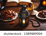 the muslim feast of the holy... | Shutterstock . vector #1389889004