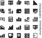 solid vector icon set  ... | Shutterstock .eps vector #1389890261