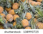 Piles Of Pineapple During Frui...
