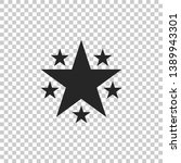 star icon isolated on...