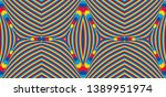color seamless pattern with... | Shutterstock .eps vector #1389951974