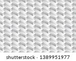 isometric seamless pattern ... | Shutterstock .eps vector #1389951977