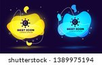 black copywriting network icon... | Shutterstock .eps vector #1389975194