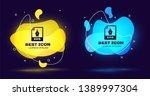 black eps file document icon.... | Shutterstock .eps vector #1389997304