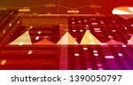 3d illustration render business ... | Shutterstock . vector #1390050797
