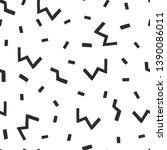 seamless doodle pattern. vector ...   Shutterstock .eps vector #1390086011