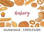 web banner template with frame...   Shutterstock .eps vector #1390131284