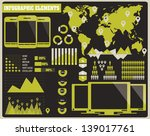 collection of infographics... | Shutterstock .eps vector #139017761