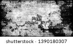 closeup of black white old...   Shutterstock . vector #1390180307