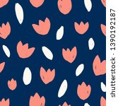 seamless repeating pattern with ... | Shutterstock .eps vector #1390192187