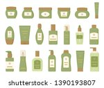 set of different cosmetic...   Shutterstock .eps vector #1390193807