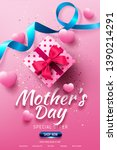 happy mother's day sale poster... | Shutterstock .eps vector #1390214291