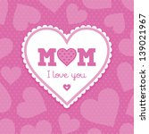Raster Mothers Day Card...