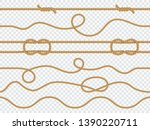 marine rope seamless. pattern... | Shutterstock .eps vector #1390220711
