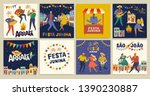 brazilian traditional... | Shutterstock .eps vector #1390230887