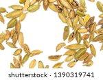 lot of whole true cardamom pod... | Shutterstock . vector #1390319741
