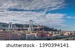 genova  genoa  italy   may 2019 ...   Shutterstock . vector #1390394141