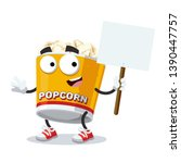 cartoon joyful filled yellow... | Shutterstock .eps vector #1390447757