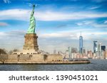 View Of Liberty Island With...