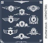 heraldic elements  insignia ...