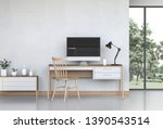 interior room design for...   Shutterstock . vector #1390543514
