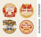 retro label over beige... | Shutterstock .eps vector #139060685