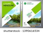 business brochure. flyer design.... | Shutterstock .eps vector #1390616534