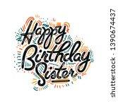 vector illustration ... | Shutterstock .eps vector #1390674437