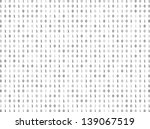 flat binary code screen listing ... | Shutterstock .eps vector #139067519