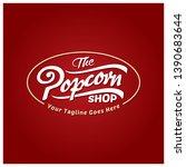 unique typography label   logo... | Shutterstock .eps vector #1390683644