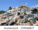 Pile Of Domestic Garbage In...