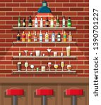 drinking establishment.... | Shutterstock . vector #1390701227