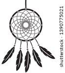 native american indian talisman ... | Shutterstock .eps vector #1390775021