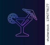 cocktail nolan icon. simple...