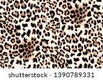 Seamless Leopard Pattern...