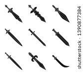vector illustration of sharp... | Shutterstock .eps vector #1390877384