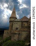 castle from transylvania  the... | Shutterstock . vector #1390901