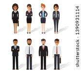 group of working people...   Shutterstock .eps vector #1390931114