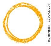 orange round copy space or...   Shutterstock .eps vector #1390937204