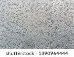 glass floral pattern. art...   Shutterstock . vector #1390964444